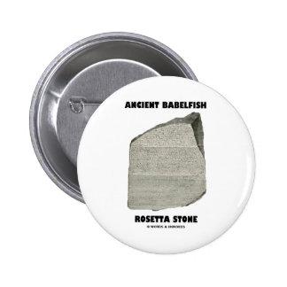 Piedra antigua de Babelfish Rosetta (comunicación) Pins