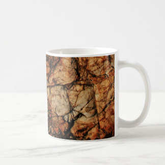 Piedra antigua taza