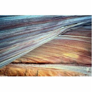 piedra arenisca Cruz-acostada de Navajo, Arizona, Fotoescultura Vertical