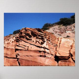 Piedra arenisca esculpida ancladero del Los Gatos Impresiones