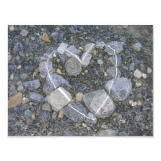 """piedra-arte invitación 4.25"""" x 5.5"""""""