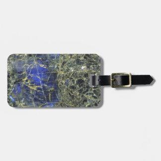 Piedra azul etiquetas bolsas