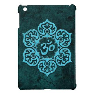 Piedra azul OM floral iPad Mini Protector