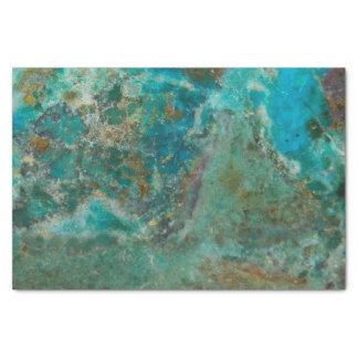 Piedra azul papel de seda pequeño