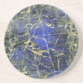 Piedra azul posavasos personalizados