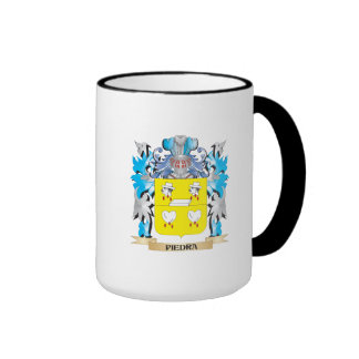 Piedra Coat of Arms - Family Crest Mugs