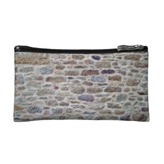 Piedra con textura de la pared del cemento