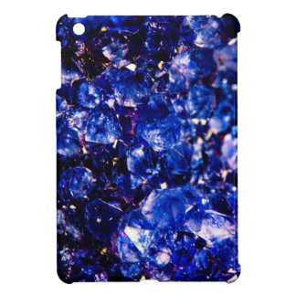 Piedra cristalina azul iPad mini carcasa