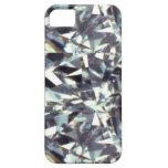 piedra de gema clara, diamante iPhone 5 Case-Mate cobertura