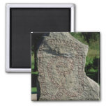 Piedra de la runa fuera del castillo de Gripsholm Imanes De Nevera