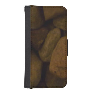 Piedra de la sauna billetera para teléfono