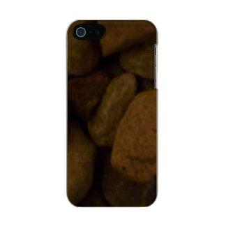 Piedra de la sauna carcasa de iphone 5 incipio feather shine