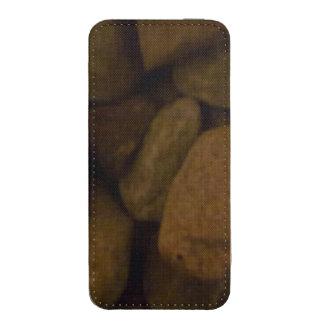 Piedra de la sauna funda acolchada para iPhone