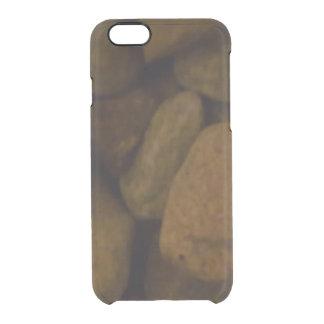 Piedra de la sauna funda clearly™ deflector para iPhone 6 de uncommon