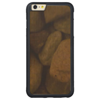 Piedra de la sauna funda de arce bumper carved® para iPhone 6 plus