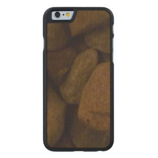 Piedra de la sauna funda de iPhone 6 carved® slim de arce