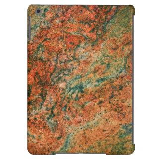 Piedra de mármol en Brown y verde Funda Para iPad Air