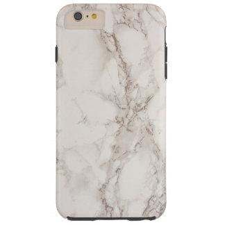 Piedra de mármol funda resistente iPhone 6 plus