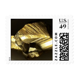 Piedra de oro del mineral de la pepita de los sellos