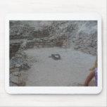 piedra de pulido tapete de raton