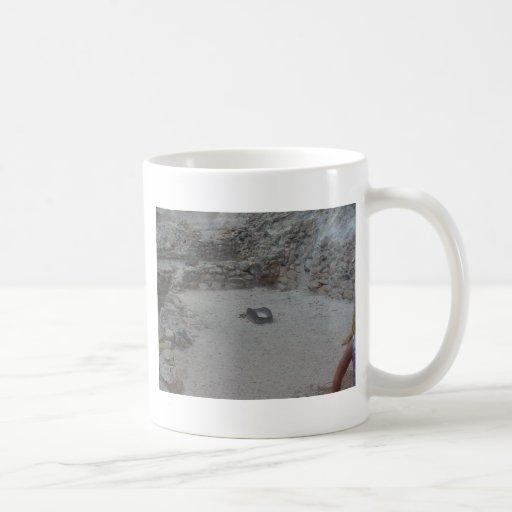 piedra de pulido taza