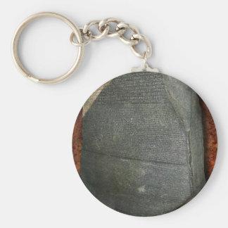 Piedra de Rosetta Llavero Personalizado