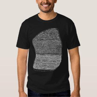 Piedra de Rosetta Playeras