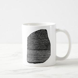 Piedra de Rosetta Taza De Café