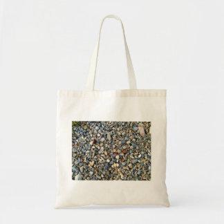 Piedra decorativa de los guijarros, textura de la  bolsa