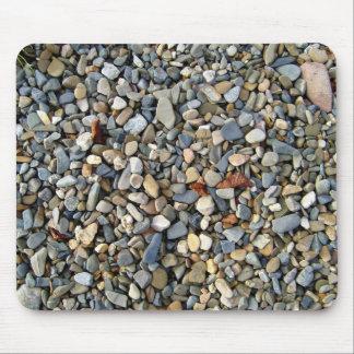 Piedra decorativa de los guijarros textura de la alfombrilla de raton