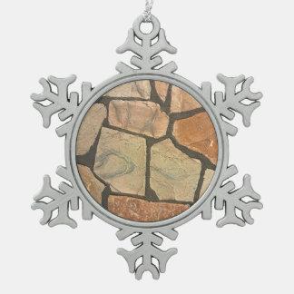 Piedra decorativa que pavimenta mirada adornos