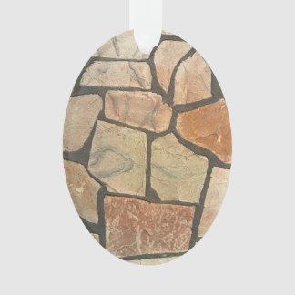 Piedra decorativa que pavimenta mirada