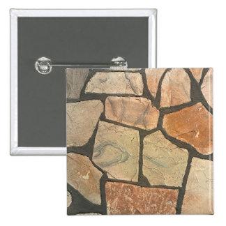 Piedra decorativa que pavimenta mirada pin cuadrada 5 cm