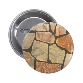 Piedra decorativa que pavimenta mirada pin redondo 5 cm