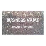 piedra del tejado tarjeta de visita