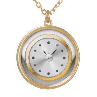 piedra elegante París del vintage del reloj de bol Grimpolas