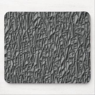 Piedra geométrica alfombrillas de ratón