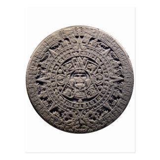 Piedra MAYA azteca del CALENDARIO - 21 de Postales