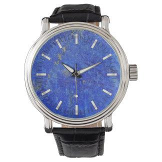 Piedra preciosa azul de Lazurite Reloj De Mano