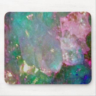 Piedra preciosa coloreada multi alfombrillas de raton