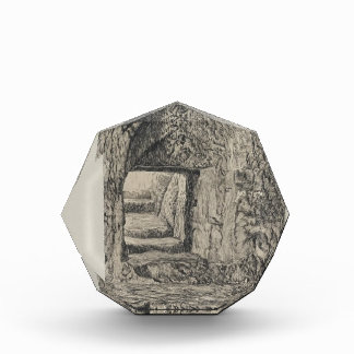 Piedra redonda de James Tissot- vista del interior