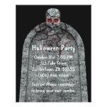 Piedra sepulcral - aviador de Halloween Flyer Personalizado