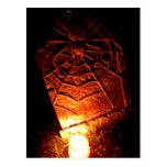 Piedra sepulcral de la araña postal