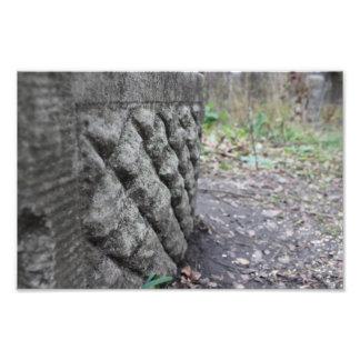 Piedra sepulcral famosa 12x8 fotografía