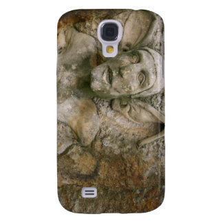 Piedra sepulcral que talla el caso del iPhone 3G/3 Funda Para Galaxy S4