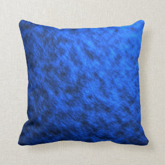 Piedra suave azul cojín