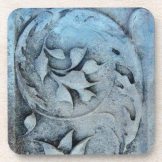 Piedra tallada posavasos de bebidas