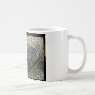 piedra taza básica blanca