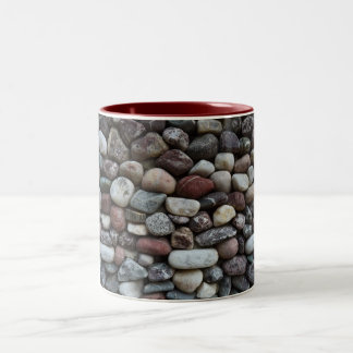 Piedra Taza De Dos Tonos