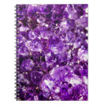 Piedra violeta libretas espirales